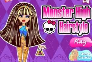 Monster high dress up games online monster high dress up games
