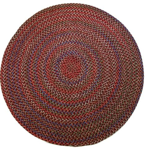small round accent rugs burgundy rug textured braided farmhouse area rugs