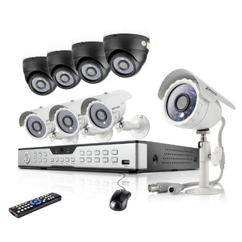 16ch h 264 dvr security system with 8 600tvl indoor