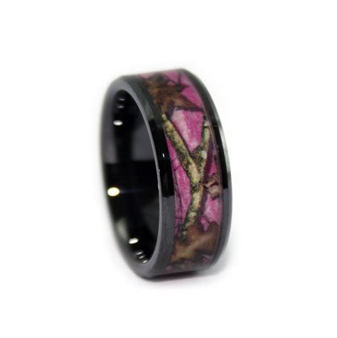 Wedding Rings Camo by Pink Camo Wedding Rings For Mini Bridal