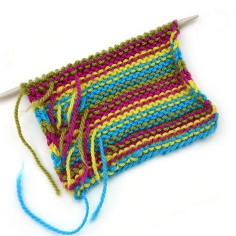 weaving in ends knitting a simple trick for weaving in ends as you knit stripes to