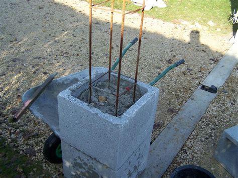 Monter Un Pilier En montage des piliers
