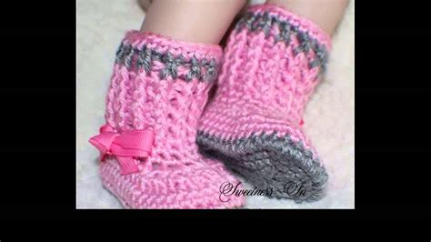 crochet socks pattern youtube crochet baby booties free pattern youtube
