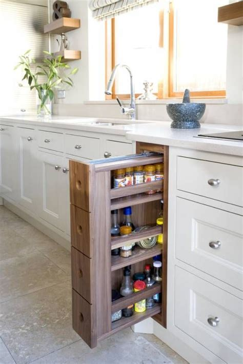 Kitchen Cabinet Pull Out Spice Rack by Spice Pull Out Cabinet Kitchen Design