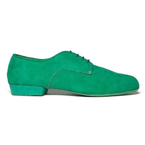 Green Suede 2054 Green Suede Fabio Shoes