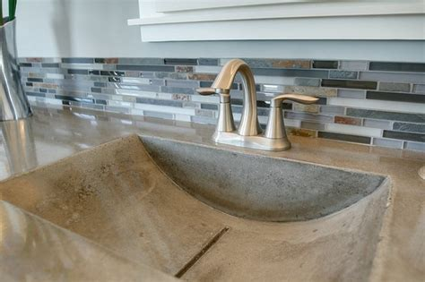 how to make a concrete sink for bathroom bathroom concrete sinks modern bathroom sinks