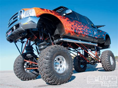 2008 Blood Drag Monster Ford F350 Photo 2