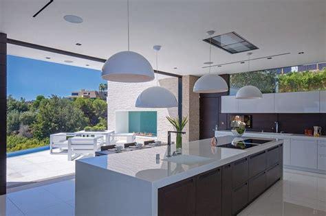 luxury modern kitchen designs modern luxury kitchen design with white laminate island
