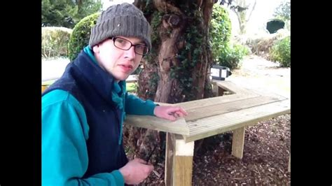 how to make a tree bench how to build a tree bench youtube