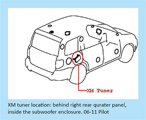 2008 honda pilot stereo rear diagram honda auto parts