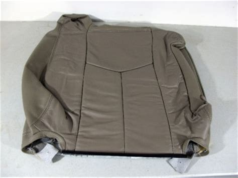 silverado leather seat covers oem 03 04 05 06 silverado truck leather oem seat cover ebay