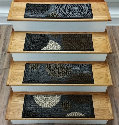rug treads finished carpet stair treads tread sets for stairs carpet treads