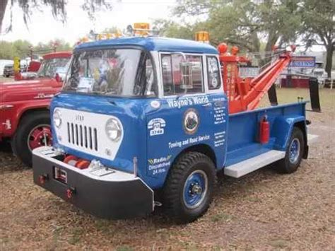 Jeep Tow Truck Wayne Trent S 1959 Willy S Jeep Fc 170 Tow Truck