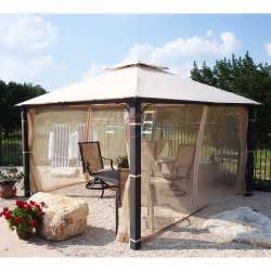 Outdoor Canopy Gazebo 12x12 by Academy 12 X 12 Square Two Tiered Gazebo Replacement