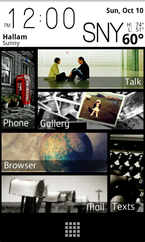 android themes evo custom android theme screen 1 by djnecro on deviantart