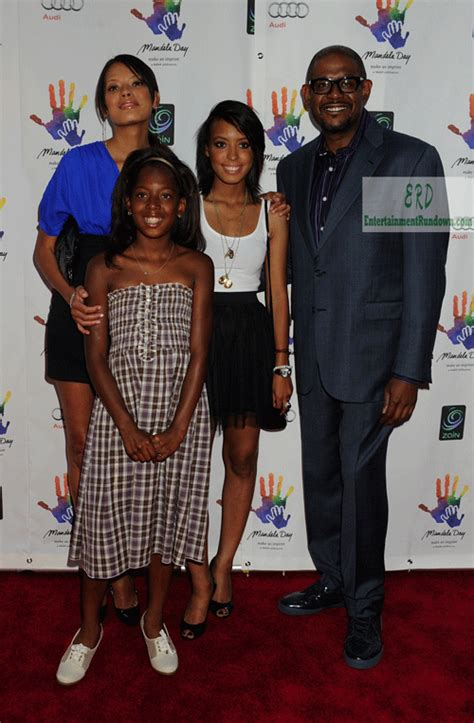 Forest Whitaker Family Photos