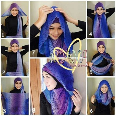 tutorial pashmina simple tutorial hijab scarf pashmina hijab pinterest