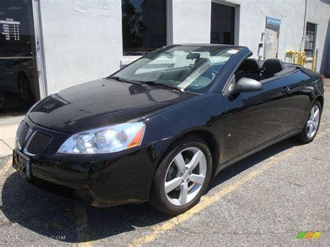 pontiac g6 black 2007 black pontiac g6 gt convertible 14147564 gtcarlot