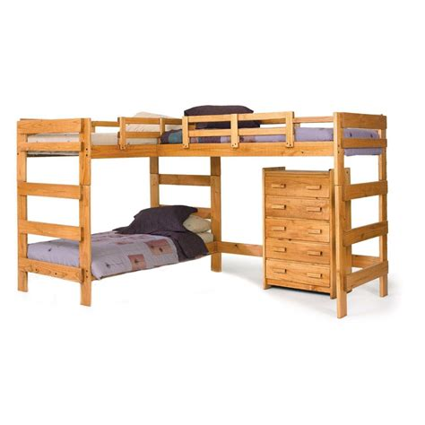 the bed l chelsea home l shaped bunk bed 3 beds rooms