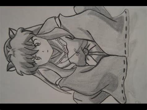 imagenes de inuyasha para dibujar a lapiz dibujando a inuyasha youtube