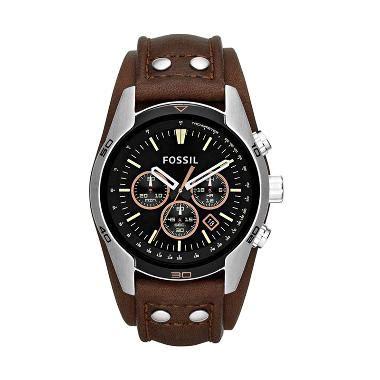 Jam Tangan Wanita Fossil Coklat jual jam tangan dompet fossil pria wanita murah