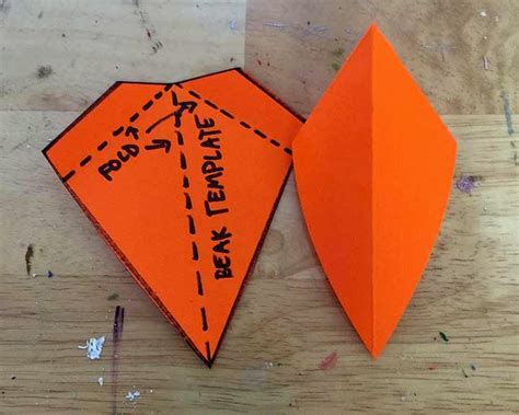 How To Make A Bird Beak Out Of Paper - 26 images of paper beak template infovia net