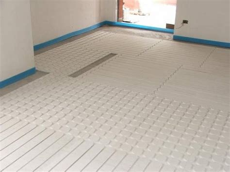 pavimento radiante a secco novita pannelli radianti a secco in 2 cm
