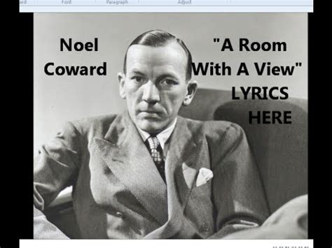room with a view song noel coward quot a room with a view quot lyrics here 1928