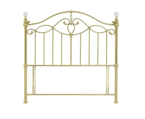 gold metal headboard elena shiny gold metal headboard just headboards