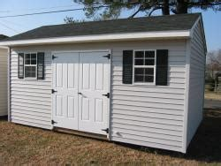 plan from a sheds outdoor shed vinyl siding diy