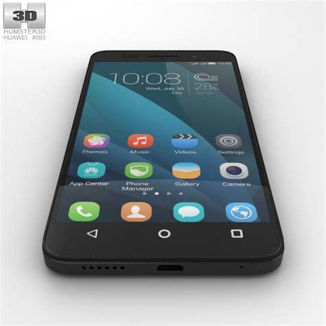 huawei honor 4x black 3d model hum3d