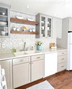 White And Grey Kitchen by Gray White Kitchen Remodel Centsational