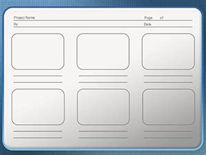 Powerpoint Storyboard Template Powerpoint Storyboard Template