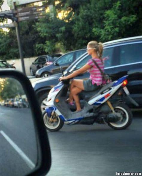 imagenes chistosas en moto las mejores fotos c 243 micas de chicas 2 fotos de humor