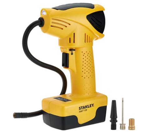 stanley cordless air compressor with accessory page 1 qvc