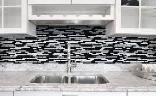 White Kitchen White Backsplash Black Gray And White Backsplash Tile Backsplash