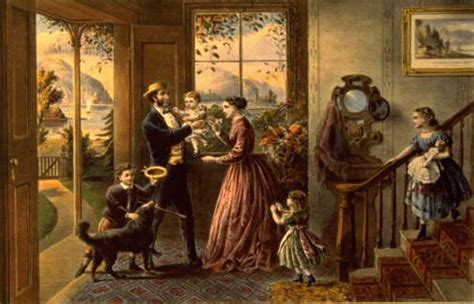 Antebellum Home Interiors image the four seasons of life middle age