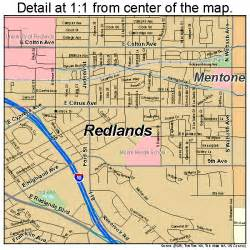 map of redlands california redlands california map 0659962