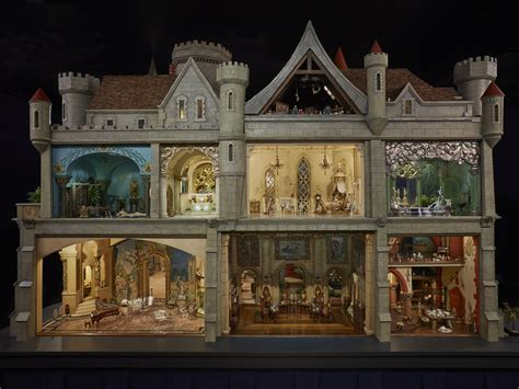 house of doll a doll house to dream of colleen moore s fairy castle pictures cbs news