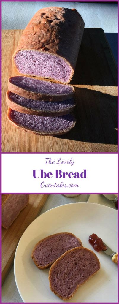 how to cook purple yam in the oven ube bread purple yam bread oventales