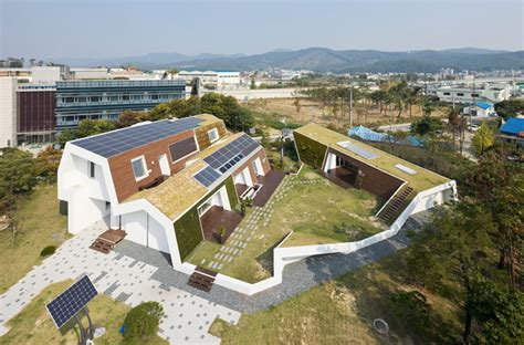 unsangdong architects sustainable e green home