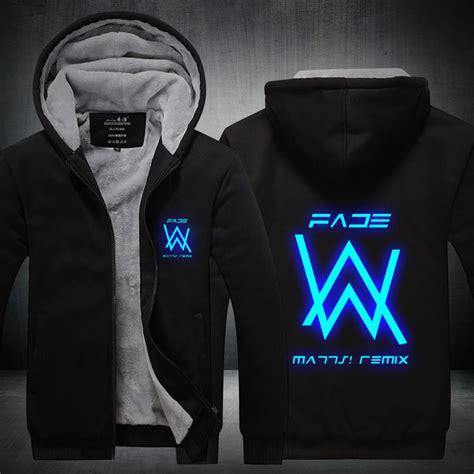 Vest Zipper Marshmello Alan Walker aliexpress buy new s winter jackets and coats faded alan walker hoodie luminous thick