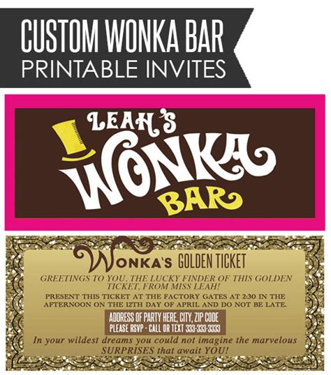 willy wonka bar wrapper template willy wonka bar wrapper golden ticket by