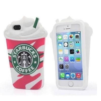 V0123 Iphone 4 4s 5 5s5c 6 6s 6 Plus 6s Plus capa capinha iphone 5 5s 6 6s 7 7 plus starbucks rosa