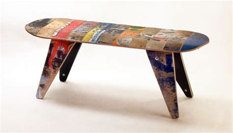 how to make a skateboard bench recycle your old skate to create the eco friendly
