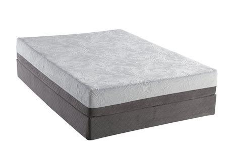 Sealy Foam Mattress by Sealy Optimum Inspiration Gel Memory Foam Mattress Set