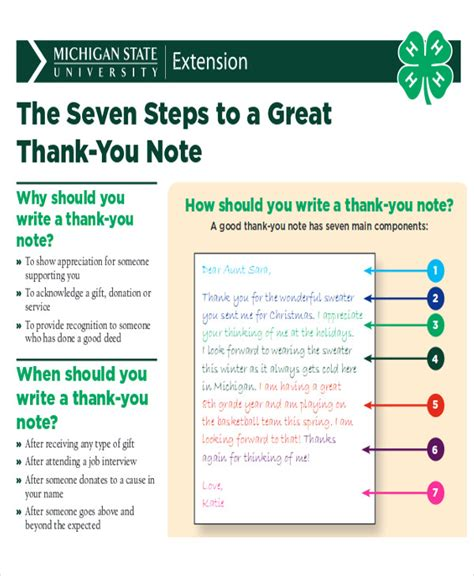 work thank you note 7 sle work thank you notes sle templates