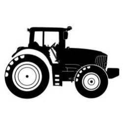 Tractor silhouette wall decal tractors silhouette and wall decals