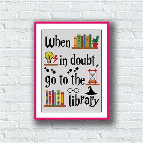 pattern library sle bogo sale cross stitch pattern hogwarts harry potter