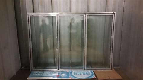 3 Door Ardco Glass Doors For Walk In Freezer Or Cooler Walk In Cooler Glass Doors
